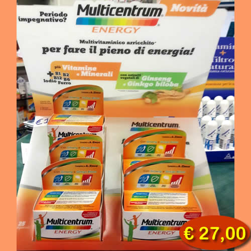 Multicentrum-energy